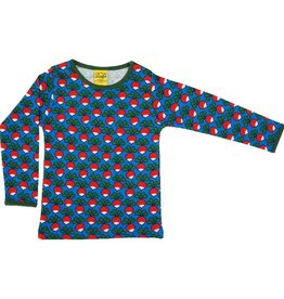 Duns Sweden Shirt, Radish Blue (3-16j)