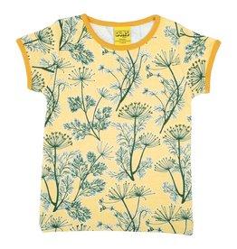 DUNS Sweden T-shirt, Dill Golden Haze (3-16j)