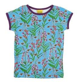 DUNS Sweden T-shirt, Willowherb Blue (3-16j)