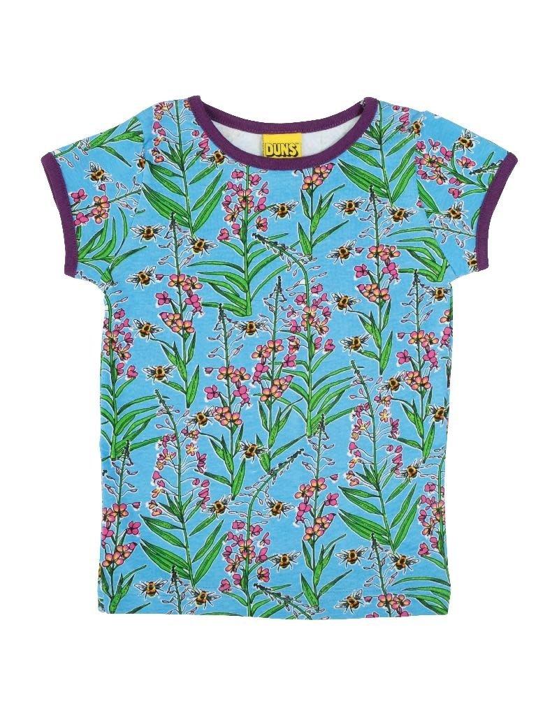 DUNS Sweden Duns Sweden - T-shirt, Willowherb Blue