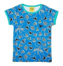 Duns Sweden T-shirt, Flies Blue