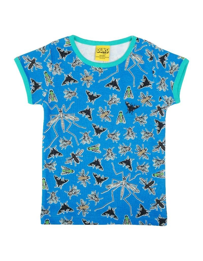 Duns Sweden Duns Sweden Adult - T-shirt, Flies Blue