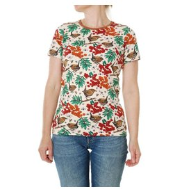 Duns Sweden T-shirt, Rowanberry Mother of Pearl