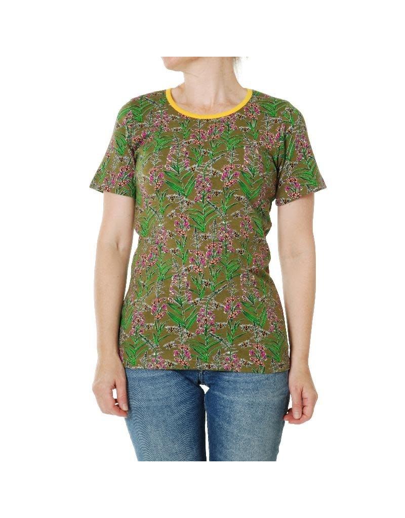 Duns Sweden Duns Sweden Adult - T-shirt, Willowherb Olive Branch