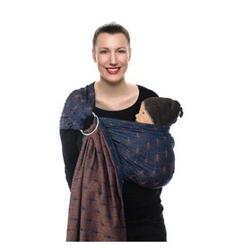 Babylonia Carriers BB-sling ornate blue