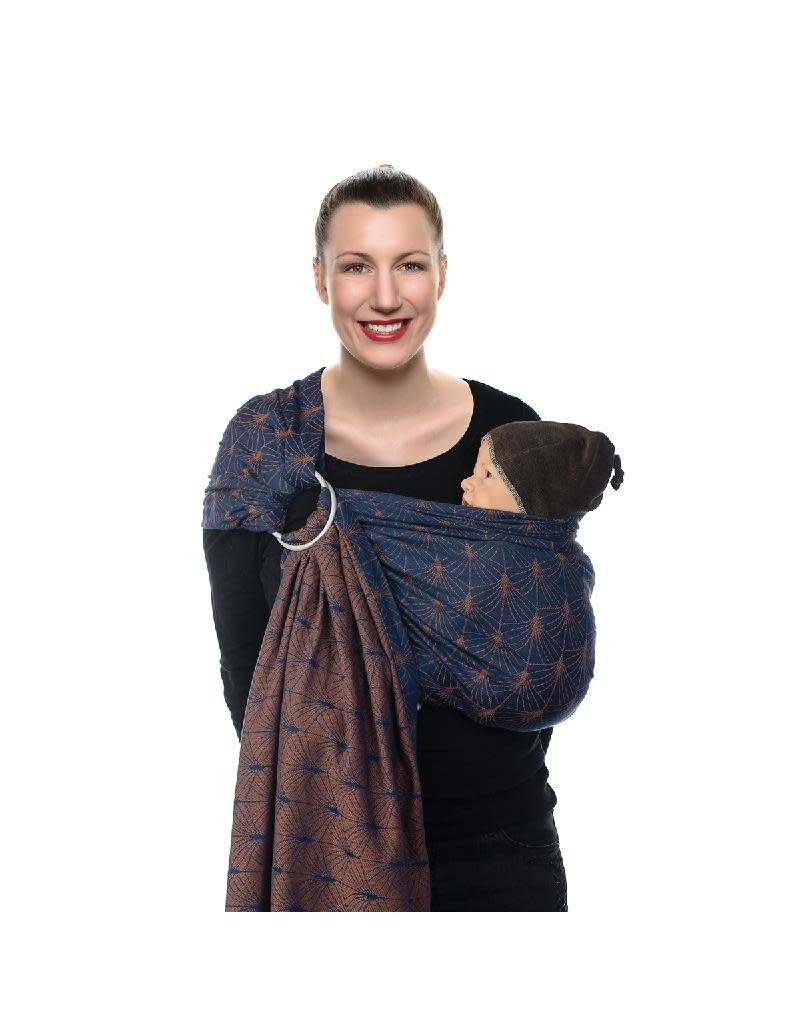 Babylonia Carriers Babylonia Carriers - BB-SLING, ornate blue, gathered