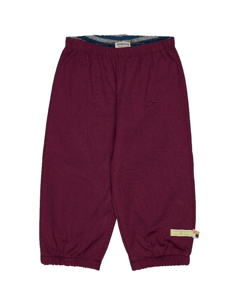Loud+Proud Loud+Proud - outdoorbroek, plum (0-2j)