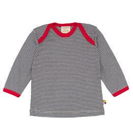 Loud+Proud Shirt, donkerblauw gestreept (3-16j)