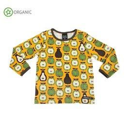 Villervalla Shirt, honey, garden fruit (0-2j)