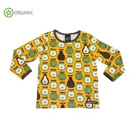 Villervalla Shirt, honey, garden fruit (3-16j)