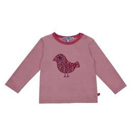 Enfant Terrible Shirt, roze, vogel (0-2j)