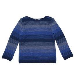 Enfant Terrible Trui, donkerblauw gestreept (3-16j)