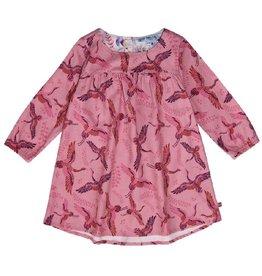 Enfant Terrible Jurk, roze, kraanvogels (3-16j)