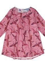 Enfant Terrible Enfant Terrible - jurk, roze, kraanvogels (0-2j)