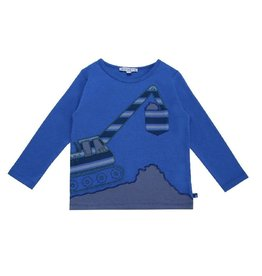 Enfant Terrible Shirt, blauw, kraan (0-2j)