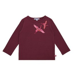 Enfant Terrible Shirt, kraanvogels (3-16j)