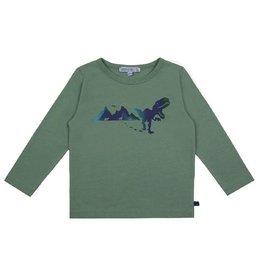 Enfant Terrible Shirt, grijsgroen, dinoprint (3-16j)