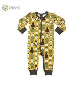 Villervalla Jumpsuit, honey, garden fruit (0-2j)