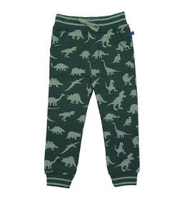 Enfant Terrible Sweatbroek, groen, dino's (3-16j)
