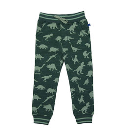 Enfant Terrible Sweatbroek, groen, dino's (3-16j)