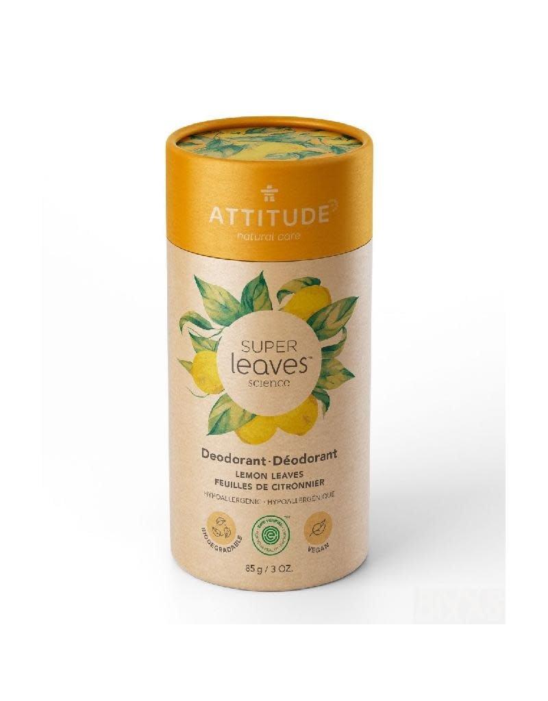 Attitude Attitude - Super Leaves deodorant, Lemon Leaves