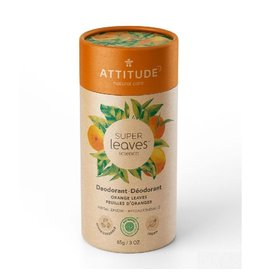 Attitude Super Leaves deodorant, Orange Leaves