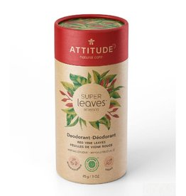 Attitude Super Leaves deodorant, Red Vine Leaves