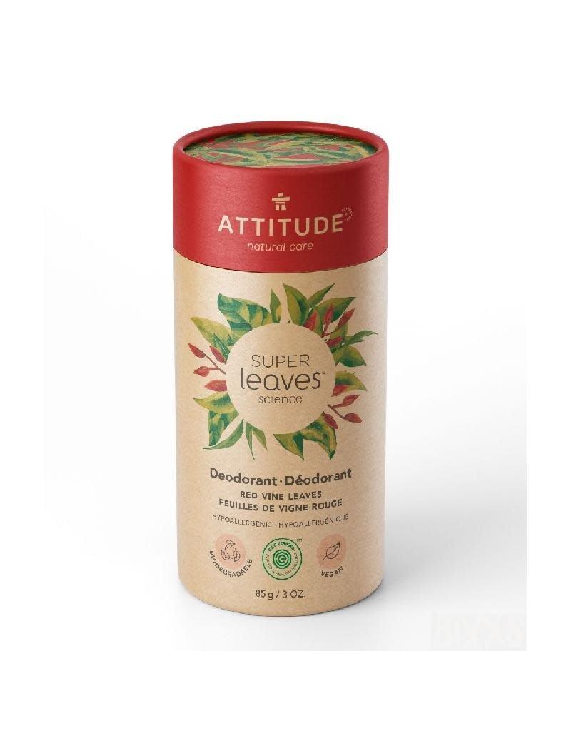 Attitude Attitude - Super Leaves deodorant, Red Vine Leaves