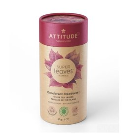 Attitude Super Leaves deodorant, White Tea Leaves