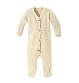 Disana Knitted overall, nature (0-2j)