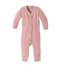 Disana Knitted overall, roze (0-2j)