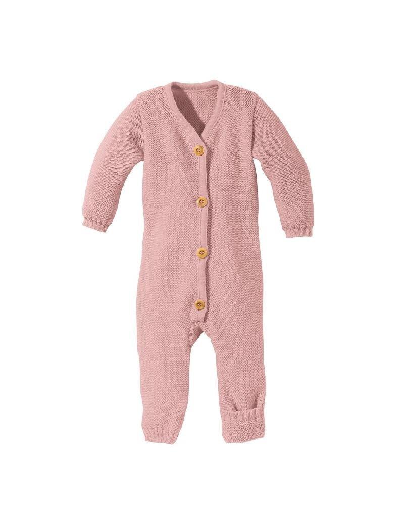 Disana Disana - knitted overall, roze (0-2j)