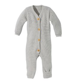 Disana Knitted overall, grijs  (0-2j)