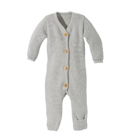 Disana Knitted overall, grey  (0-2j)