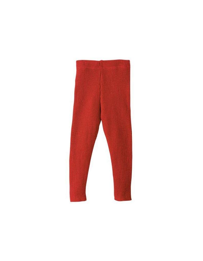 Disana Disana - legging, rood (0-2j)