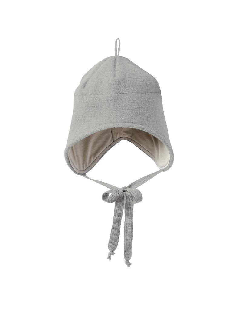 Disana Disana - strikmuts, grey, gekookte wol (0-2j)