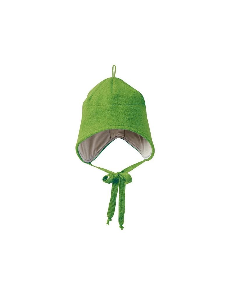 Disana Disana - strikmuts, groen, gekookte wol (0-2j)