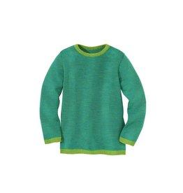 Disana Trui, groen/blauw (3-16j)