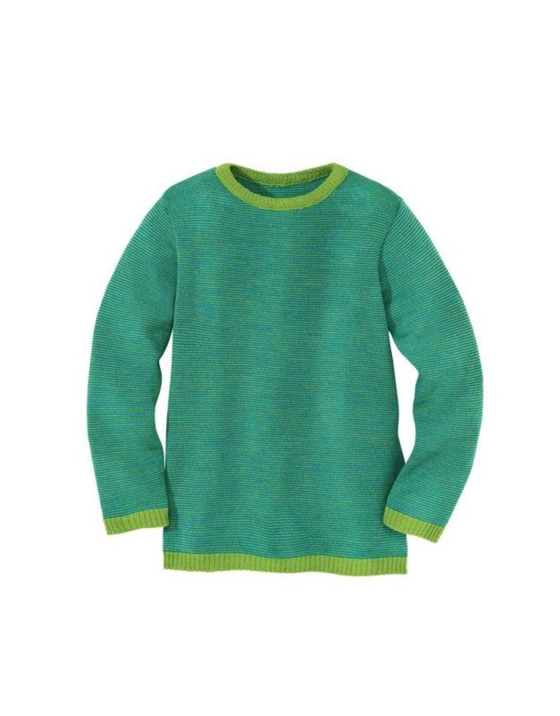 Disana Disana - trui, groen/blauw (3-16j)