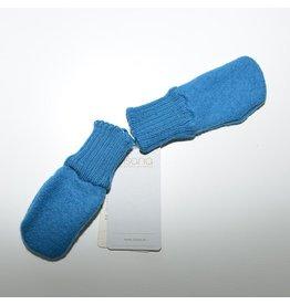 Disana Wanten, blauw, gekookte wol (0-2j)