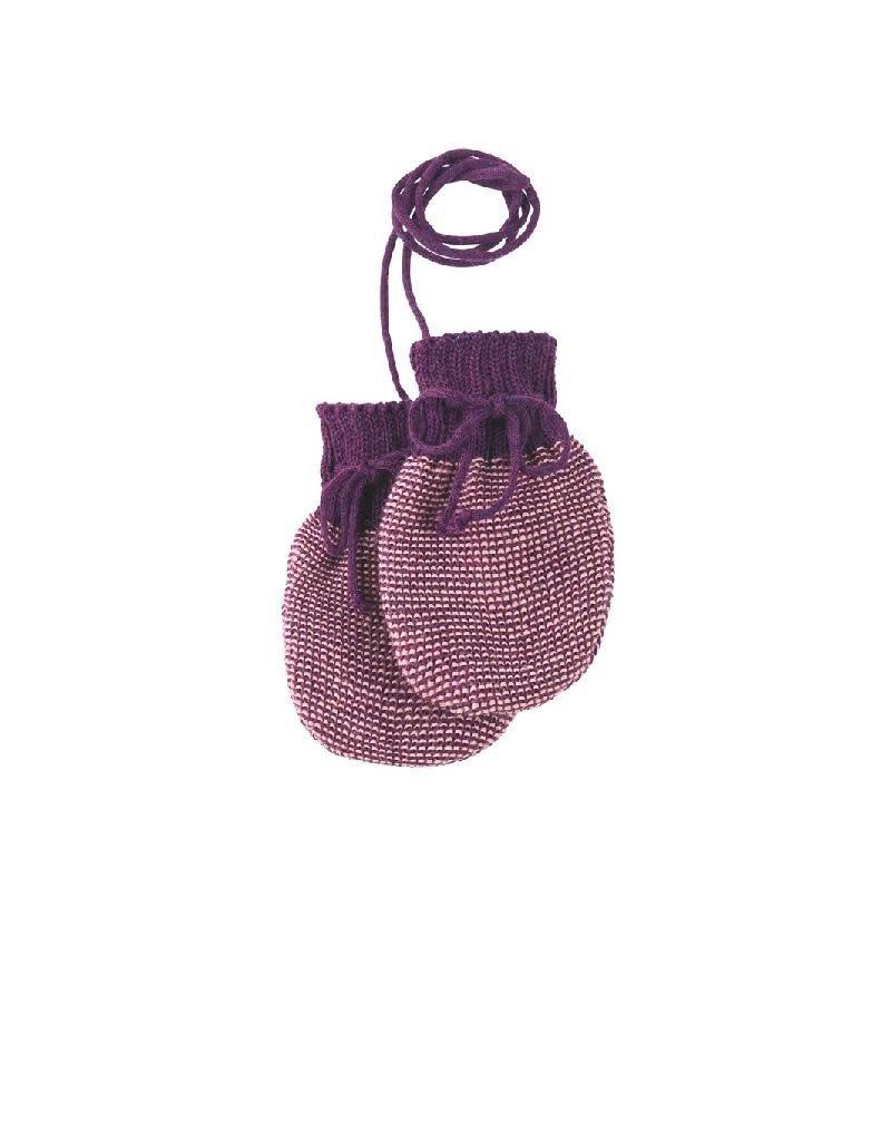 Disana Disana - wanten, paars/roze (0-2j)