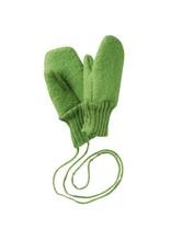 Disana Disana - wanten, groen, gekookte wol (0-2j)