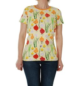 Duns Sweden T-shirt, pale green, garlic, chives & onion