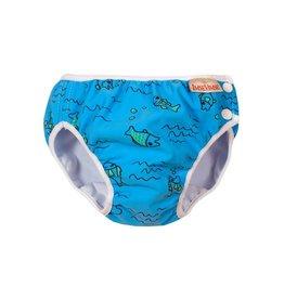 Imse Vimse Zwemluier, turquoise fish