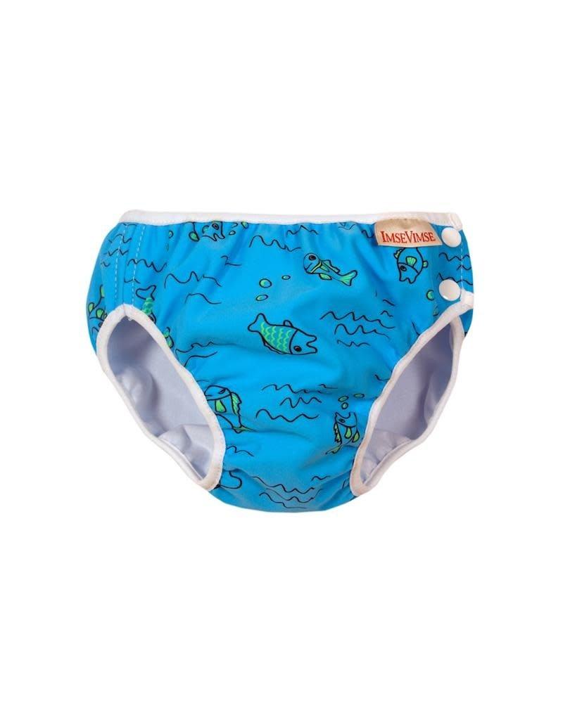 ImseVimse ImseVimse - zwemluier, turquoise fish