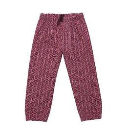 Enfant Terrible Broek, jerseyfutter, roze, geometrie (3-16j)