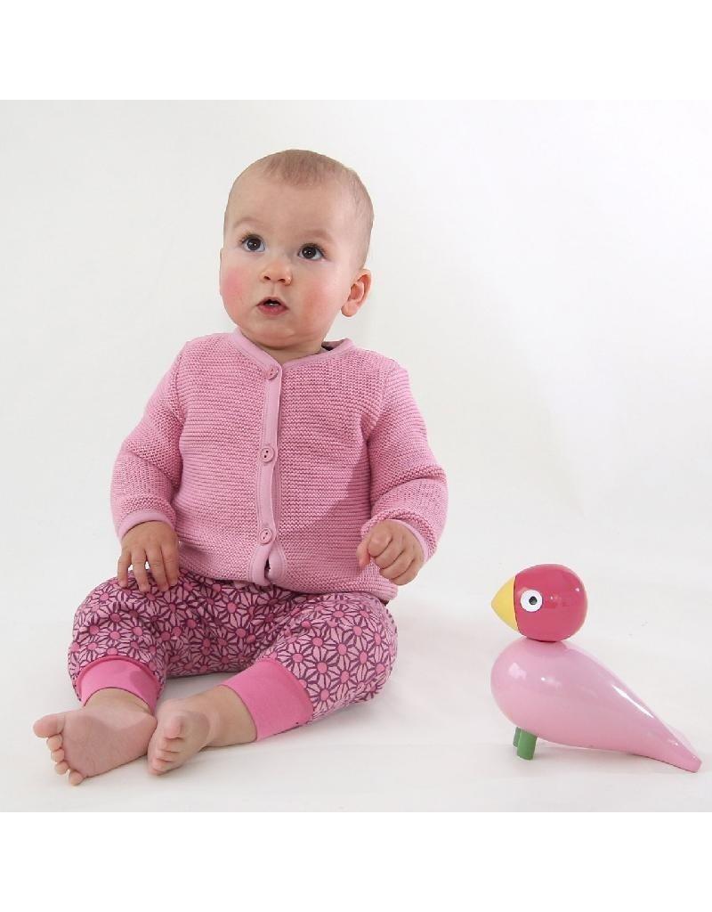 Enfant Terrible Enfant Terrible - gilet, licht roze (0-2j)
