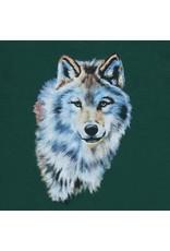 Enfant Terrible Enfant Terrible - kaptrui, groen, wolfprint (3-16j)
