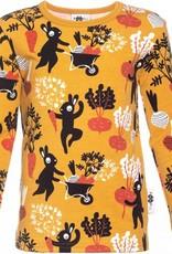 Paapii Paapii - shirt, uljas, ochre, harvest dance (3-16j)