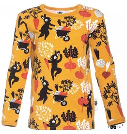 Paapii Shirt, uljas, ochre, harvest dance (3-16j)